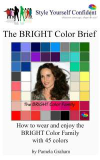 Bright tonal coloring #Bright tonal #color analysis books https://www.style-yourself-confident.com/bright-tonal-coloring.html