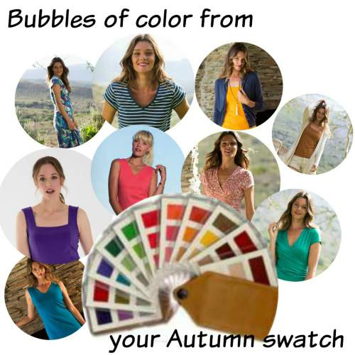 how to use a color swatch #colorswatch #coloranalysis https://www.style-yourself-confident.com/use-your-color-swatch.html