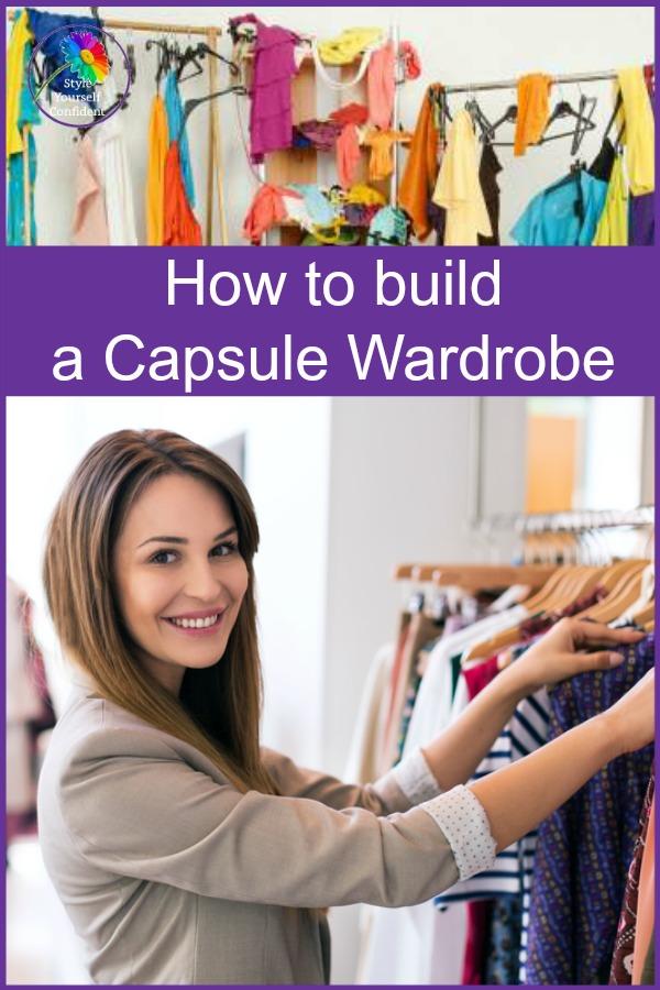 how to build a Capsule Work Wardrobe #capsulewardrobe #workwardrobe  https://www.style-yourself-confident.com/build-a-capsule-work-wardrobe.html