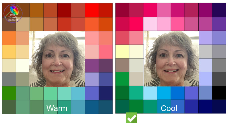 Color Analysis winner #coloranalysiscompetition #coolcolors https://www.style-yourself-confident.com/color-analysis-winner.html