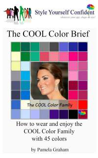 Cool tonal coloring #Cool color family  #color analysis books  http://www.style-yourself-confident.com/cool-tonal-coloring.html