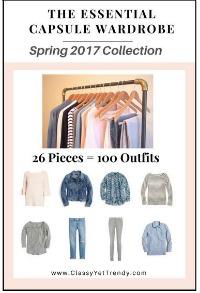 Essential Capsule Wardrobe Spring 2017  #capsulewardrobe https://transactions.sendowl.com/stores/6584/29996