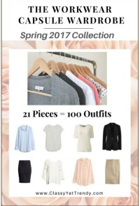 The Workwear capsule capsule wardrobe Spring 2017 #capsulewardrobe #workwear #Springoutfits 2017 https://transactions.sendowl.com/stores/6778/29996