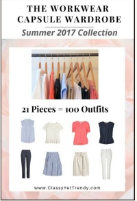 Workwear Capsule Wardrobe plan Summer 2017 https://transactions.sendowl.com/stores/7323/29996