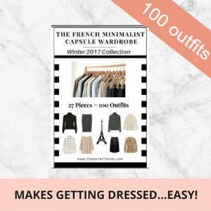 The Essential French Capsule wardrobe book Winter 2017 #capsule wardrobe #french capsule wardrobe   https://transactions.sendowl.com/stores/6194/29996