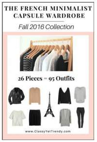 The French Minimalist Capsule Wardrobe #French capsule wardrobe #capsule wardrobe ebooks #Fall outfits 2016 https://transactions.sendowl.com/stores/5834/29996