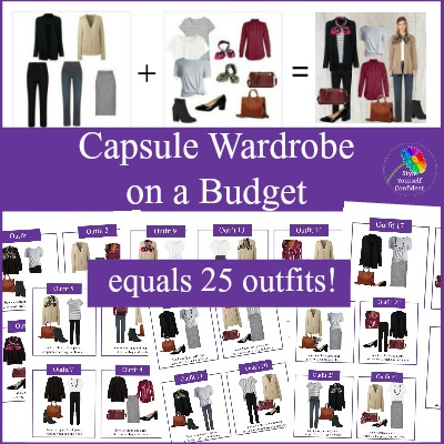 Capsule Wardrobe on a Budget #capsulewardrobeonabudget #budgetcapsule #capsulewardrobe https://www.style-yourself-confident.com/capsule-wardrobe-on-a-budget.html