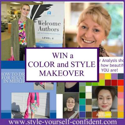 Style Yourself Confident - Color Analysis Bodyshape and Style http://www.style-yourself-confident.com