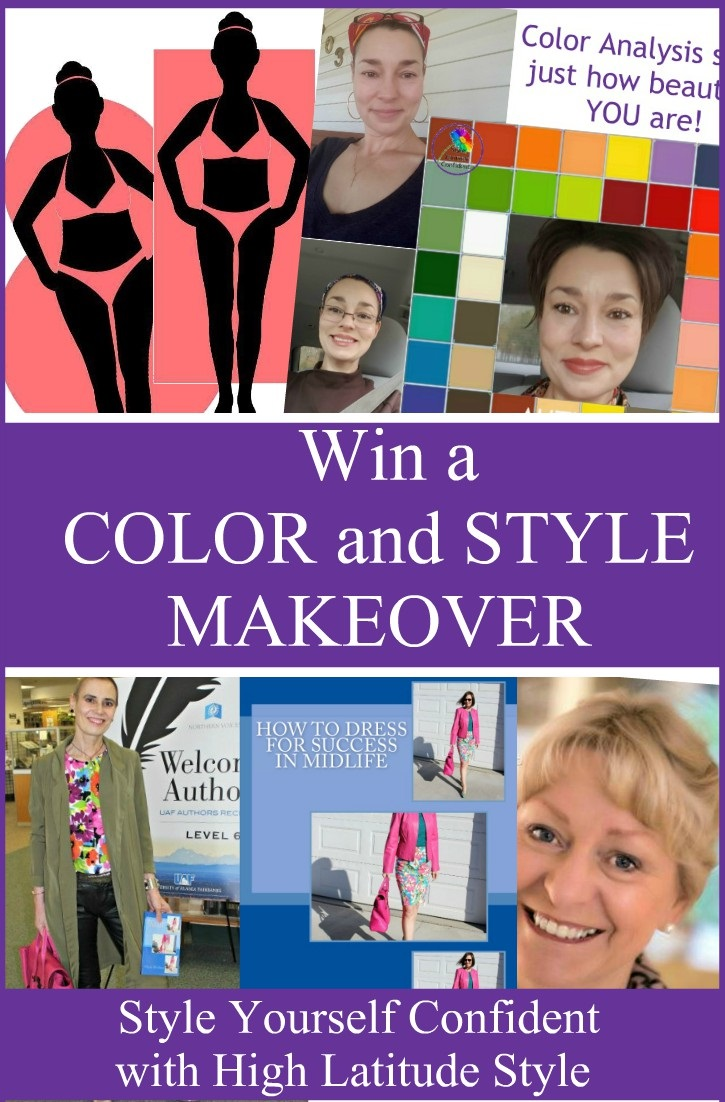 Color and Style Makeover competition Christmas 2017 http://www.style-yourself-confident.com/your-style-053.html