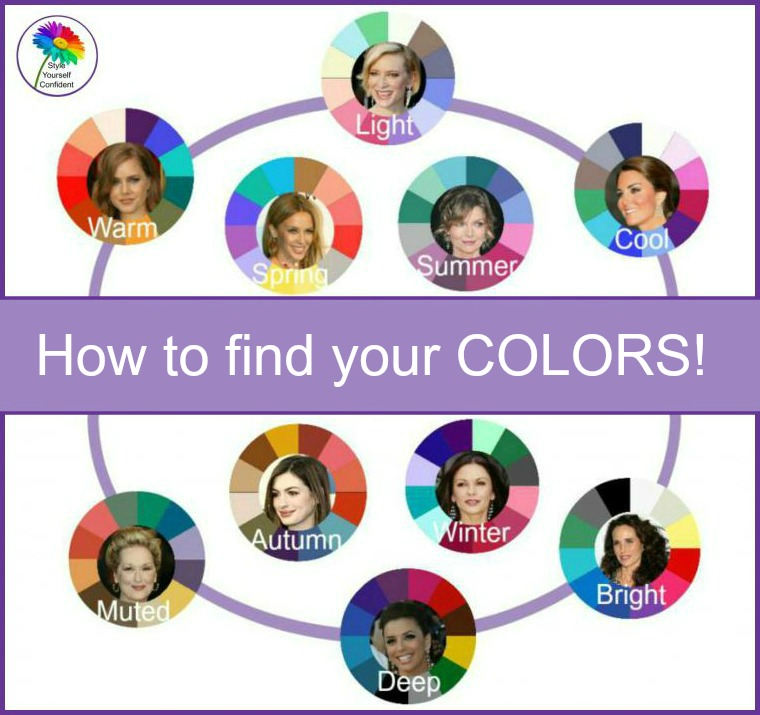 3 ways to Color Analysis - which will you choose? http://www.style-yourself-confident.com/3-ways-to-color-analysis.html