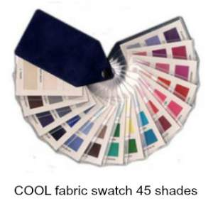 Cool fabric swatch 45 colors  #color analysis swatch #cool color family #color analysis http://www.style-yourself-confident.com/how-color-analysis-works.html