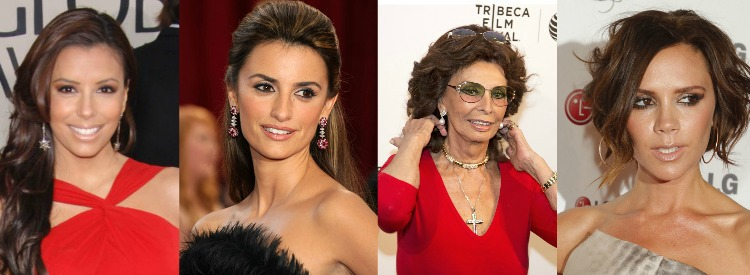 Sophie Loren, Terri Hatcher, Eva Longoria, Liza Minnelli all have Deep tonal coloring  #color analysis #deep color family #Eva Longoria https://www.style-yourself-confident.com/color-analysis-deep.html