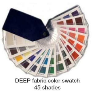 Deep fabric swatch 45 colors  #color analysis swatch #deep color family #color analysis https://www.style-yourself-confident.com/how-color-analysis-works.html