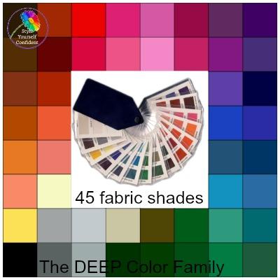 DEEP tonal coloring #deepcoloring #deeptonalcoloring #deepcolors https://www.style-yourself-confident.com/deep-tonal-coloring.html