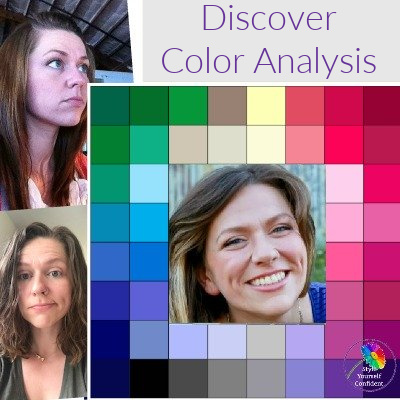 Discover Color Analysis - it's Magic! https://www.style-yourself-confident.com/color-analysis.html