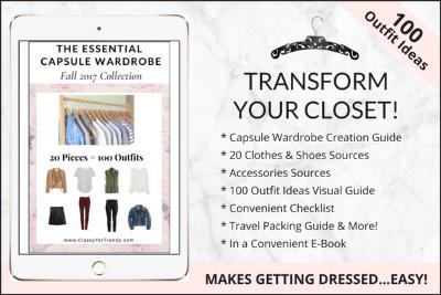 A capsule wardrobe starts with Wardrobe Essentials https://transactions.sendowl.com/stores/7521/29996