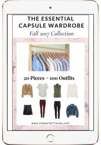 The Essential Capsule Wardrobe plan Fall 2017 https://transactions.sendowl.com/stores/7521/29996