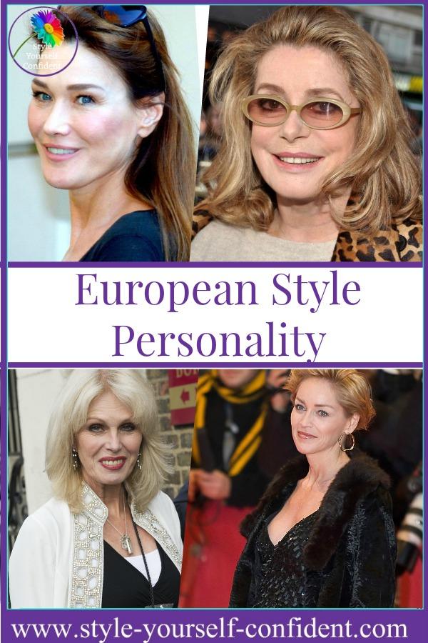 European style personality #European style #Catherine Deneuve http://www.style-yourself-confident.com/european-style-personality.html