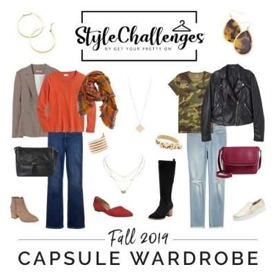 GYPO Fall / Autumn Capsule Wardrobe 2019  #gypostylechallenge #capsulewardrobe #autumncapsule #fallcapsule https://www.style-yourself-confident.com/gypo-style-challenge.html