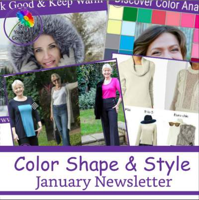 Style Yourself Confident - Color Analysis Bodyshape and Style https://www.style-yourself-confident.com