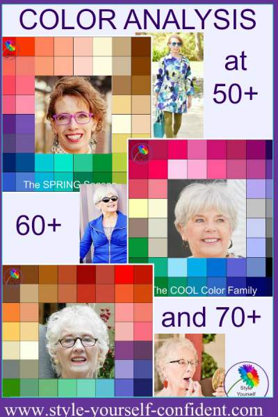 Color Analysis at any age https://www.style-yourself-confident.com/your-style-059.html