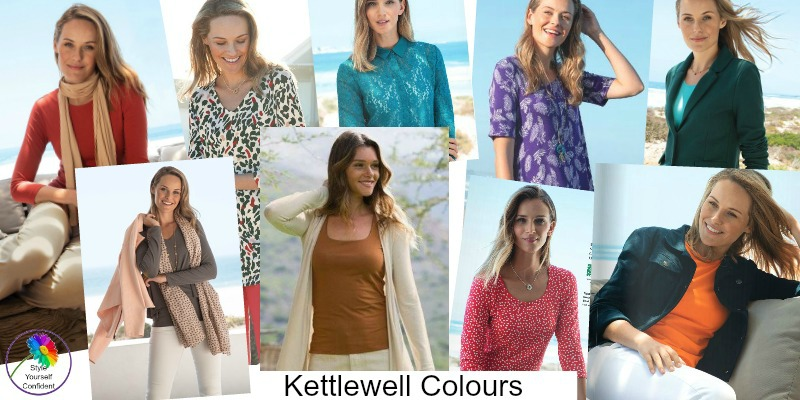 AUTUMN SEASON colors and outfits from Kettlewell Spring 2018 https://www.kettlewellcolours.co.uk/trackcampaign/186
