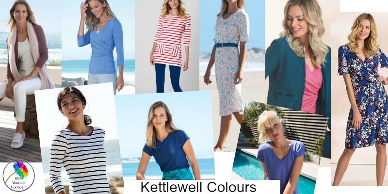Summer colors from Kettlewell Colours #coolcolorfamily https://www.style-yourself-confident.com/color-analysis-cool.html