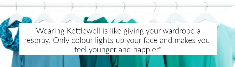 Kettlewell Colours for women who love color! #kettlewellcolours #coloranalysis #colorswatch https://www.style-yourself-confident.com/kettlewell-colours.html