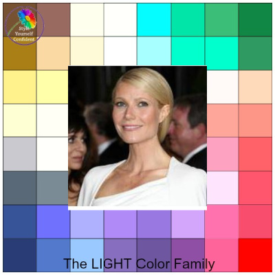 Light Spring - you may be diluting your color palette #light spring #color analysis  http://www.style-yourself-confident.com/light-spring.html