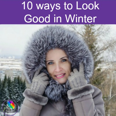 10 ways to look good in the Winter #coloranalysis #onlinecoloranalysis https://www.style-yourself-confident.com/look-good-in-the-winter.html