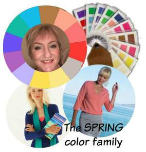 Online Color Analysis - the Spring season #color analysis #Spring coloring https://www.style-yourself-confident.com/testimonials.html