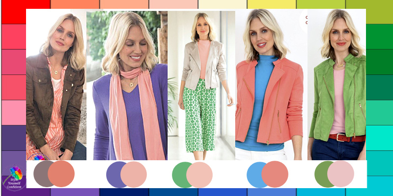 Spring's magic color #springsmagiccolor #springcolors #coloranalysis https://www.style-yourself-confident.com/springs-magic-color.html