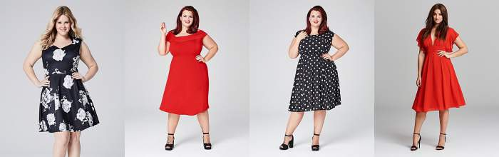 A selection of cap sleeve dresses from Simply Be #upper arm fat  http://www.style-yourself-confident.com/upper-arm-fat.html