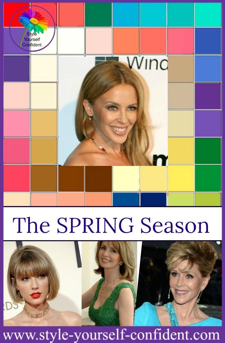Seasonal Color Analysis Spring