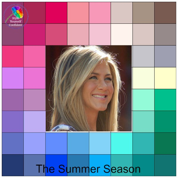 Summer colors - the prettiest season  https://www.style-yourself-confident.com/seasonal-color-analysis-summer.html