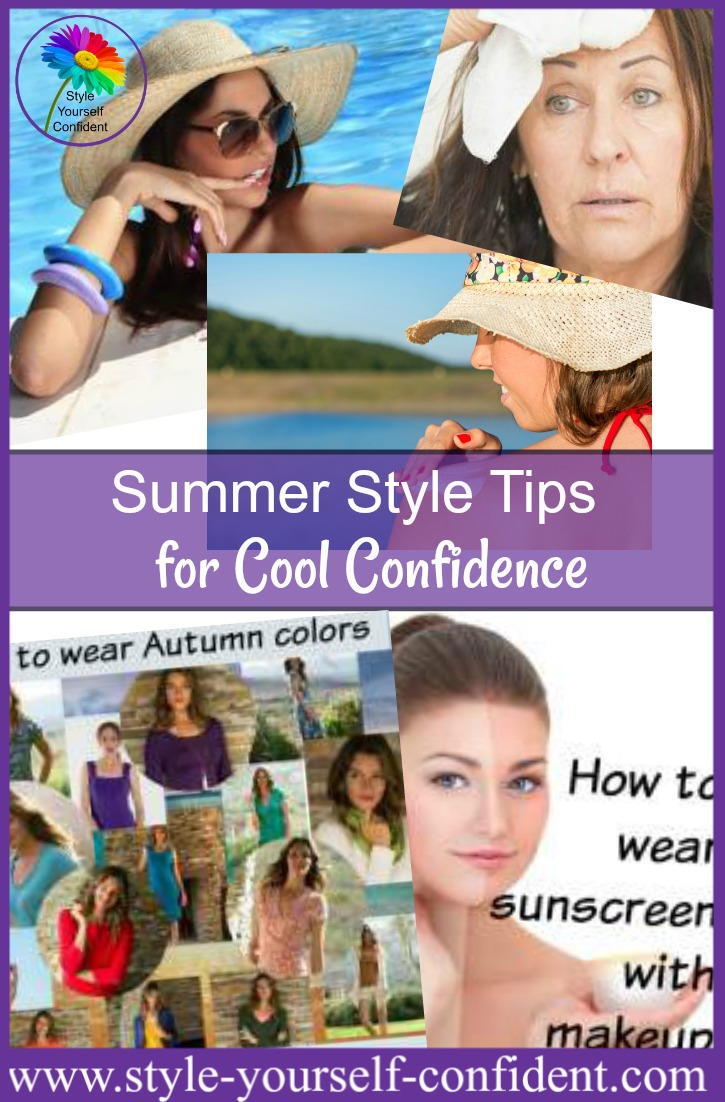 Summer style tips for cool confidence http://www.style-yourself-confident.com/summer-style-tips.html