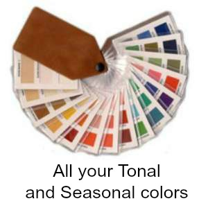 Tonal and Seasonal Color Swatches