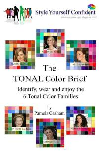 The Tonal Color Families #color analysis #bright color family https://www.style-yourself-confident.com/color-analysis-bright.html