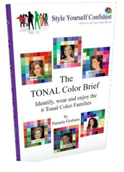 Tonal Color Brief Ebook #color analysis #color books #style makeover  http://www.style-yourself-confident.com/your-style-042