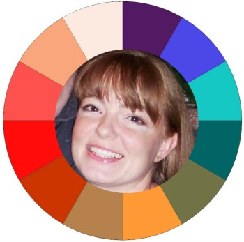 The WARM color circle #warm color family  http://www.style-yourself-confident.com/what-colors-should-I-wear.html