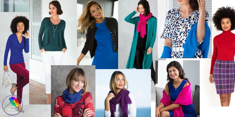 Easy ways to wear Winter colors #wintercolors #winterseason https://www.style-yourself-confident.com/wear-winter-colors.html