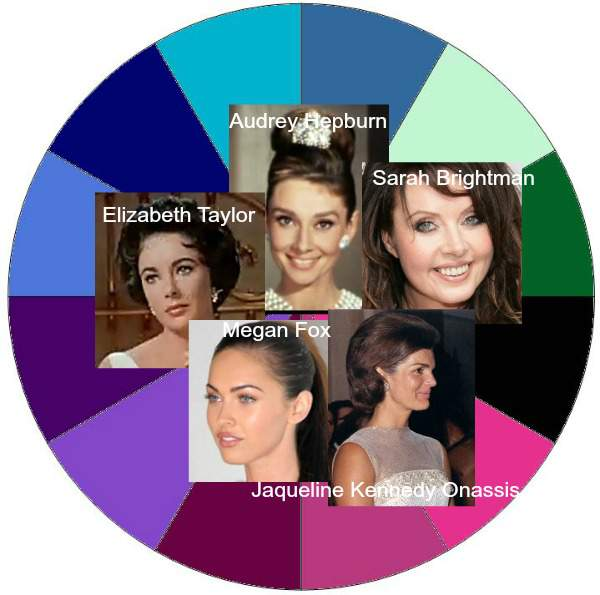 Winter Seasonal Color Analysis http://www.style-yourself-confident.com/seasonal-color-analysis-winter.html
