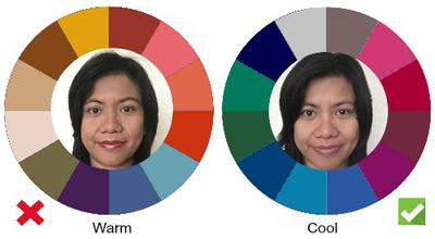 Asian skin warm or cool
