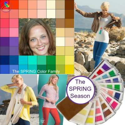 Online Color Analysis #coloranalysis #seasonalcoloranalysis https://www.style-yourself-confident.com