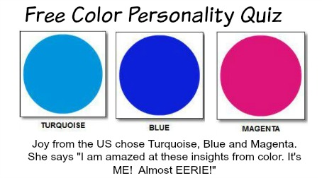 Free Color Personality Quiz  #colorpersonality #stylemakeover http://www.style-yourself-confident.com/free-color-personality-quiz.html