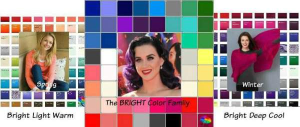 The BRIGHT color family #color analysis #bright color family http://www.style-yourself-confident.com/color-analysis-bright.html