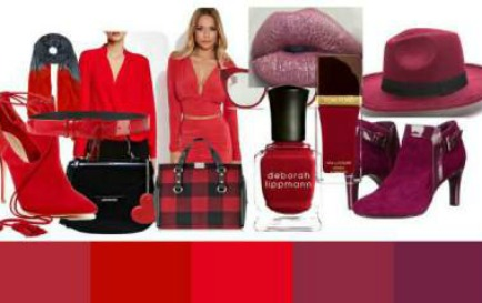 Bright reds - clear red through to burgundy #bright reds #Valentine's Day red https://www.style-yourself-confident.com/bright-tonal-coloring.html