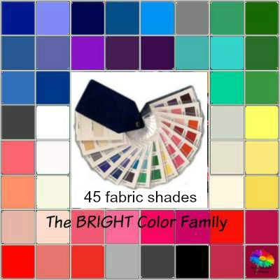Bright tonal coloring #Bright tonal #color analysis swatch https://www.style-yourself-confident.com/bright-tonal-coloring.html