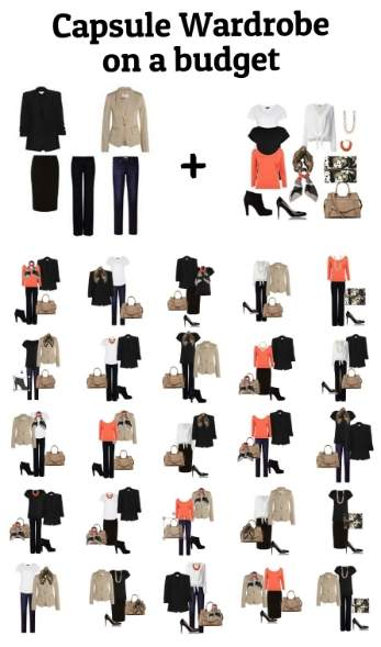 Capsule wardrobe on a budget #capsule wardrobe on a budget https://www.style-yourself-confident.com/capsule-wardrobe-on-a-budget.html