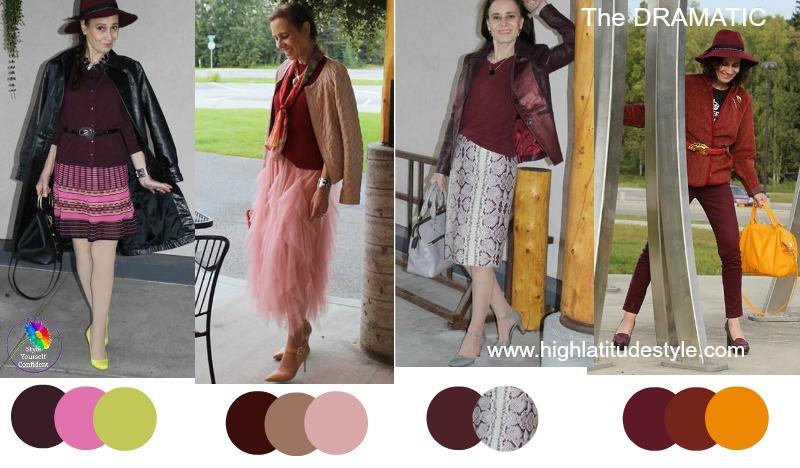 How to wear Burgundy 30 ways #wearburgundy https://www.style-yourself-confident.com/how-to-wear-burgundy.html